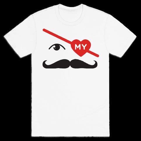 Gotta Love the Stache' Mens T-Shirt