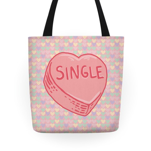 Single Conversation Heart Tote