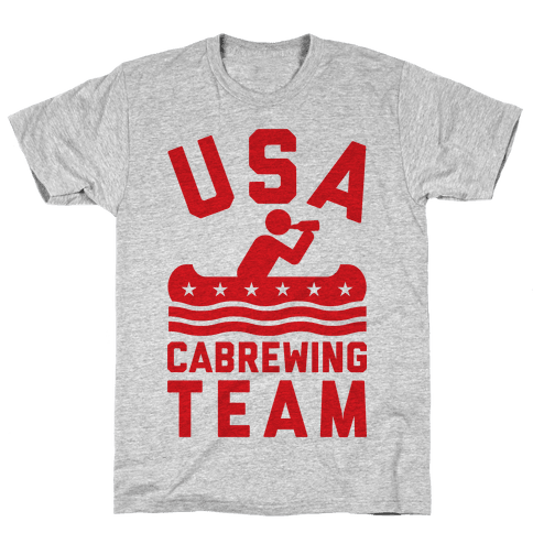 USA Cabrewing Team Mens T-Shirt