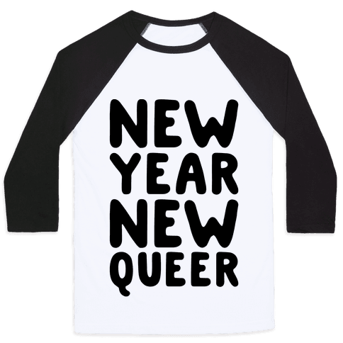 New Year New Queer Baseball Tee