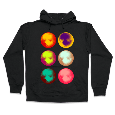 Pop Art Pluto Hooded Sweatshirt