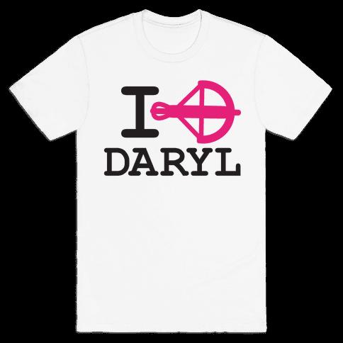 I heart Daryl (hoodie) Mens T-Shirt