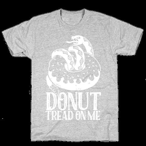 Donut Tread on Me Mens T-Shirt