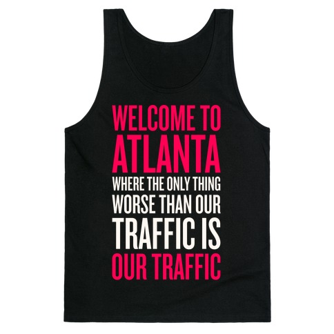 Atlanta Traffic Tank Top