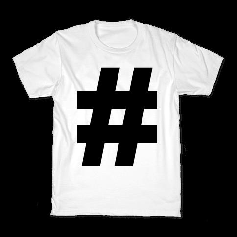 Hashtag Kids T-Shirt