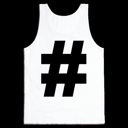 Hashtag Tank Top