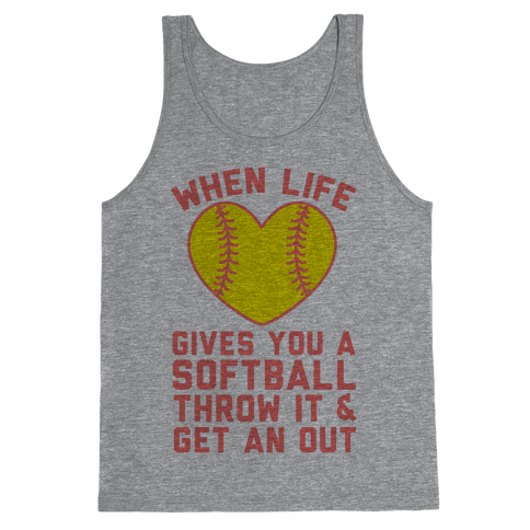 Throw It & Get An Out Tank Top