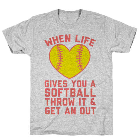 Throw It & Get An Out Mens T-Shirt