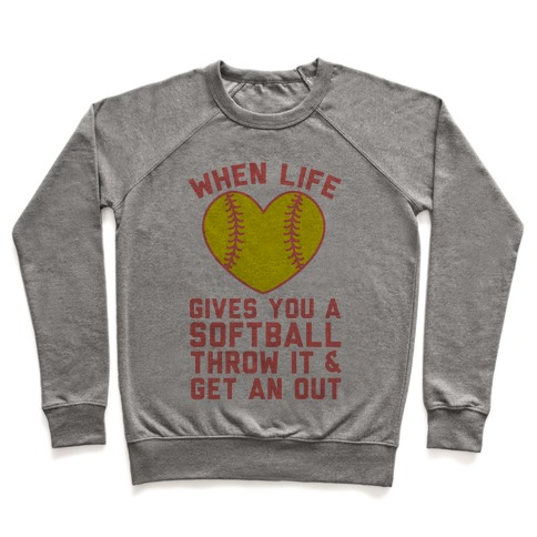 Throw It & Get An Out Pullover