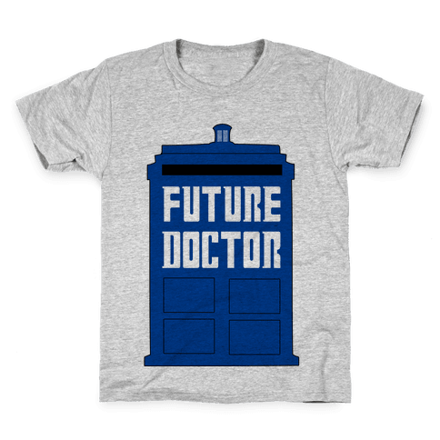 Future Doctor (Dr Who) Kids T-Shirt