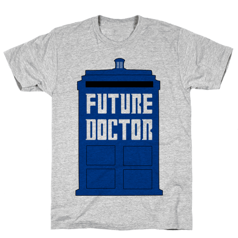 Future Doctor (Dr Who) Mens T-Shirt