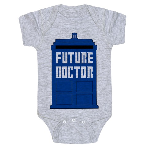 Future Doctor (Dr Who) Baby Onesy