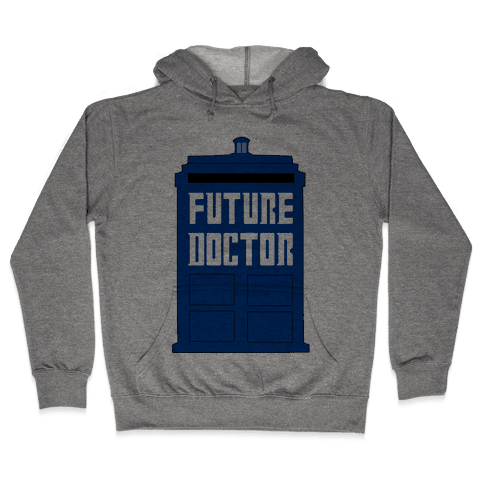 Future Doctor (Dr Who) Hooded Sweatshirt