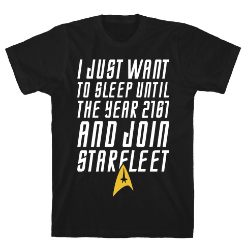 Join Starfleet Mens T-Shirt