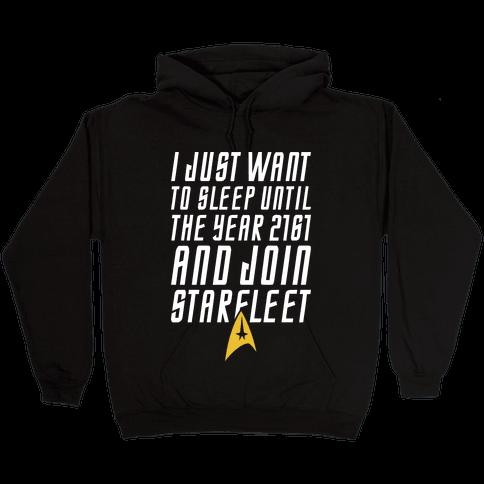 Join Starfleet Hooded Sweatshirt