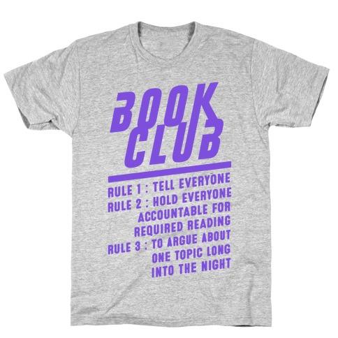 Book Club Rules T-Shirt