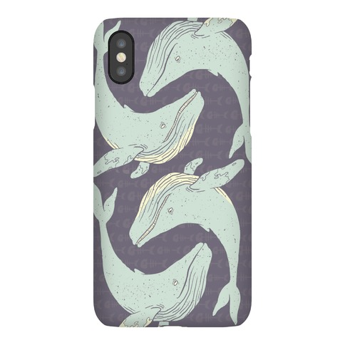 The Circle of Whales Phone Case