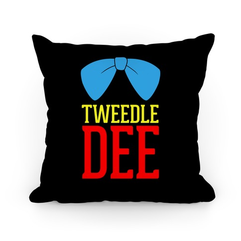 Tweedle Dee (1 of 2) Pillow