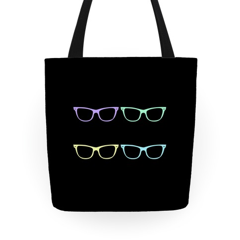 Black Glasses Tote
