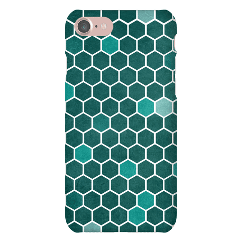 Hexagon Pattern Phone Case