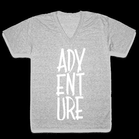 Adventure V-Neck Tee Shirt