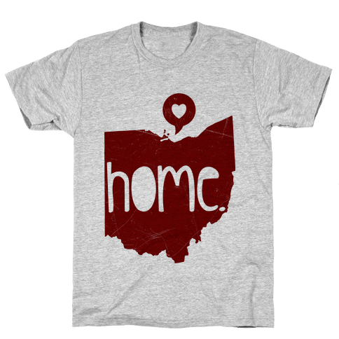 Ohio Love Mens T-Shirt