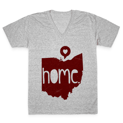 Ohio Love V-Neck Tee Shirt