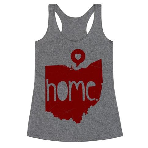 Ohio Love Racerback Tank Top