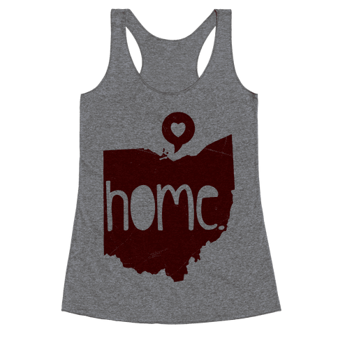 Ohio Love Racerback Tank Top