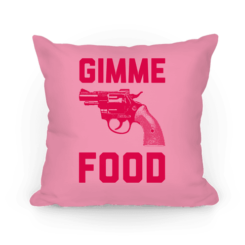 Gimme Food Pillow