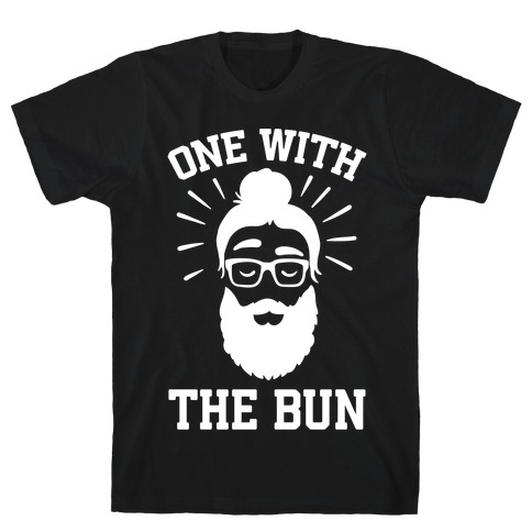 One With The Bun Mens T-Shirt