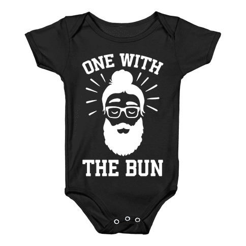 One With The Bun Baby Onesy