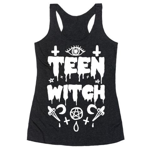 Teen Witch Racerback Tank Top