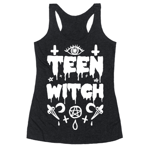 Teen Witch Racerback Tank Top