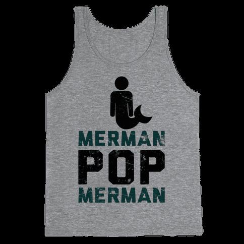 Merman Pop Merman (Tank) Tank Top