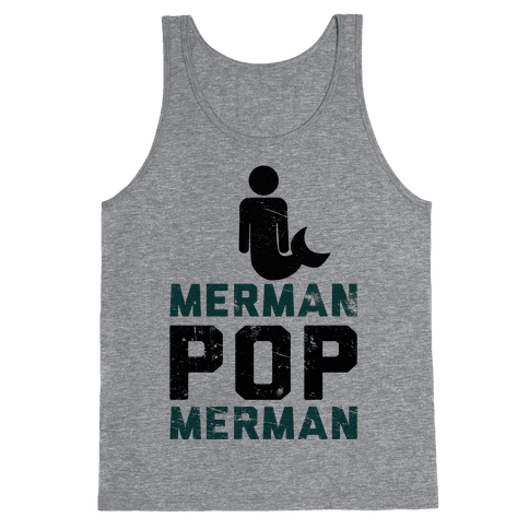Merman Pop Merman (Tank) Tank Top