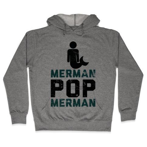 Merman Pop Merman (Tank) Hooded Sweatshirt