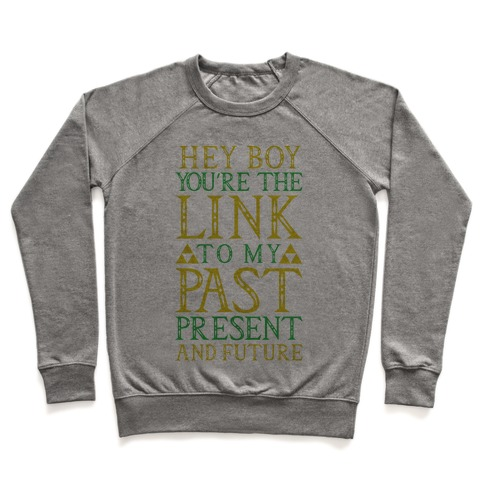 Hey Boy You're the Link to my Past Pullover