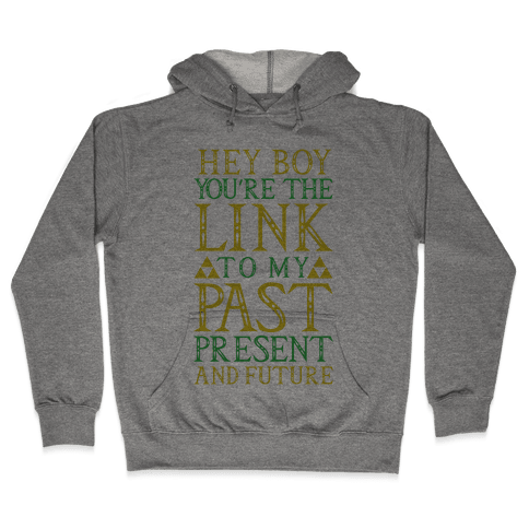 Hey Boy You're the Link to my Past Hooded Sweatshirt