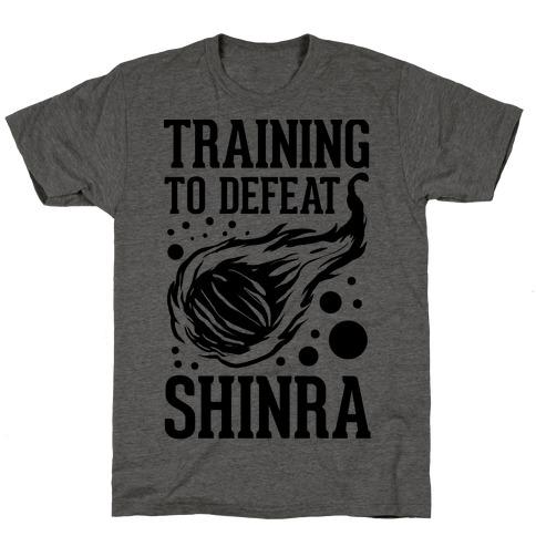 Training to Destroy Shinra T-Shirt