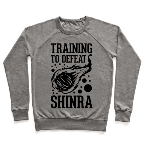 Training to Destroy Shinra Pullover