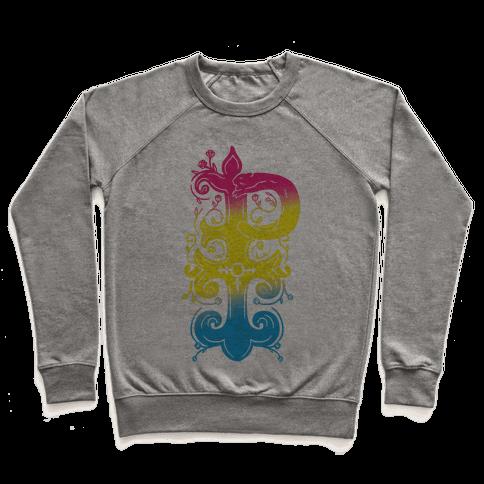 Pansexual Pride Monogram Pullover