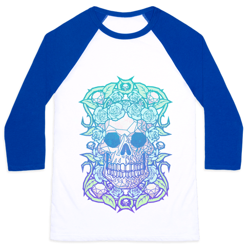 Diamonds and Roses Baseball Tee