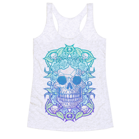 Diamonds and Roses Racerback Tank Top