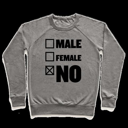 Male, Female, No Pullover