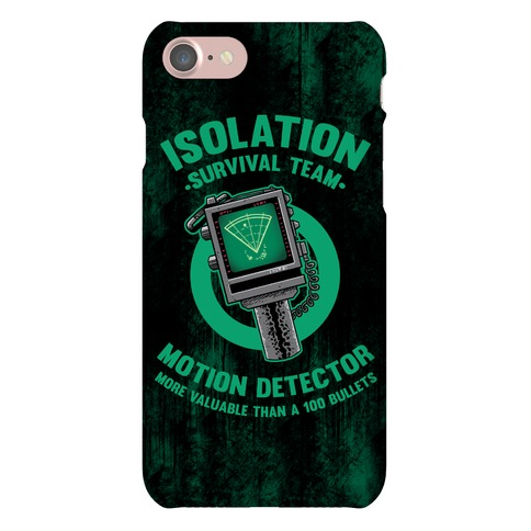 Isolation Survival Team Motion Detector Phone Case