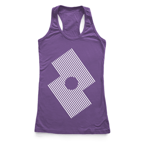 The Eye Of The Storm Racerback Tank Top