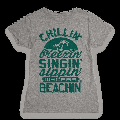 Beachin' Womens T-Shirt