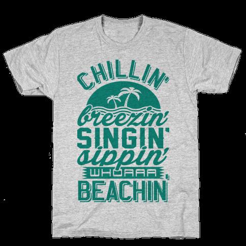 Beachin' Mens T-Shirt