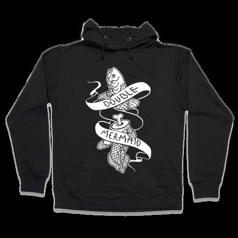 Double Mermaid Hooded Sweatshirt